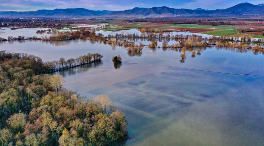 Inondations dans le Bas Rhin