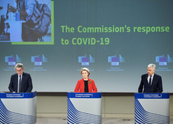 Read-out of the weekly meeting of the von der Leyen Commission by Ursula von der Leyen, President of the European Commission, Didier Reynders and Thierry Breton, European Commissioners
